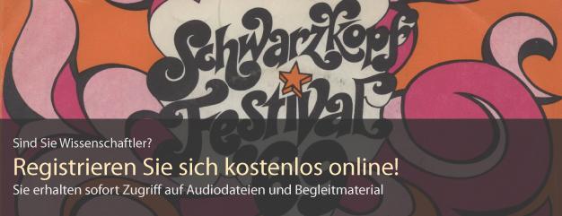 Schallplattencover aus der Spremberg-Sammlung